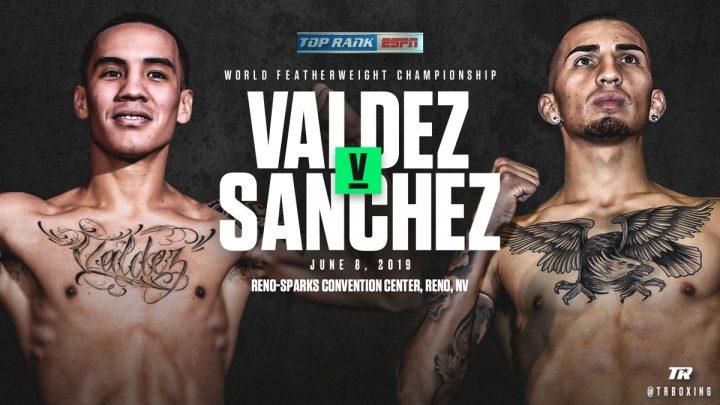 "Latest ESPN Jason ""El Alacrancito"" Sanchez Top Rank Boxing Valdez vs. Sanchez"