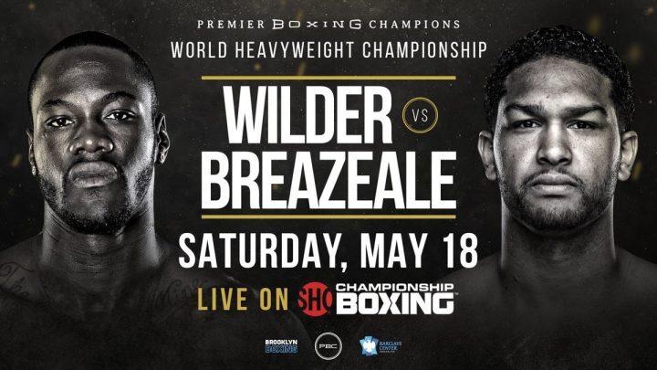 - Latest Deontay Wilder Dominic Breazeale Showtime Wilder vs. Breazeale
