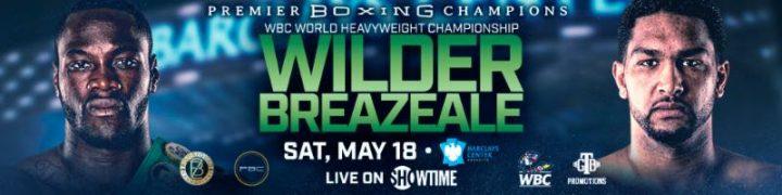 - Latest Wilder vs. Breazeale
