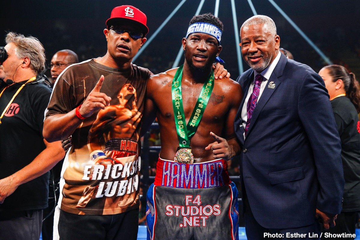 - Latest Erickson Lubin Lubin vs. Gallimore Nathaniel Gallimore Showtime