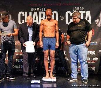 Latest Charlo vs. Cota Jermell Charlo Jorge Cota