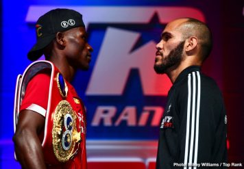 - Latest Commey vs. Beltran Ray Beltran Richard Commey Top Rank Boxing