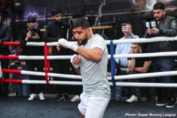 Amir Khan Manny Pacquiao Khan vs. Goyat Neeraj Goyat