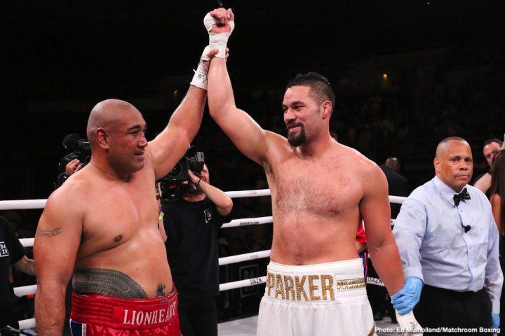 Demetrius Andrade Joseph Parker