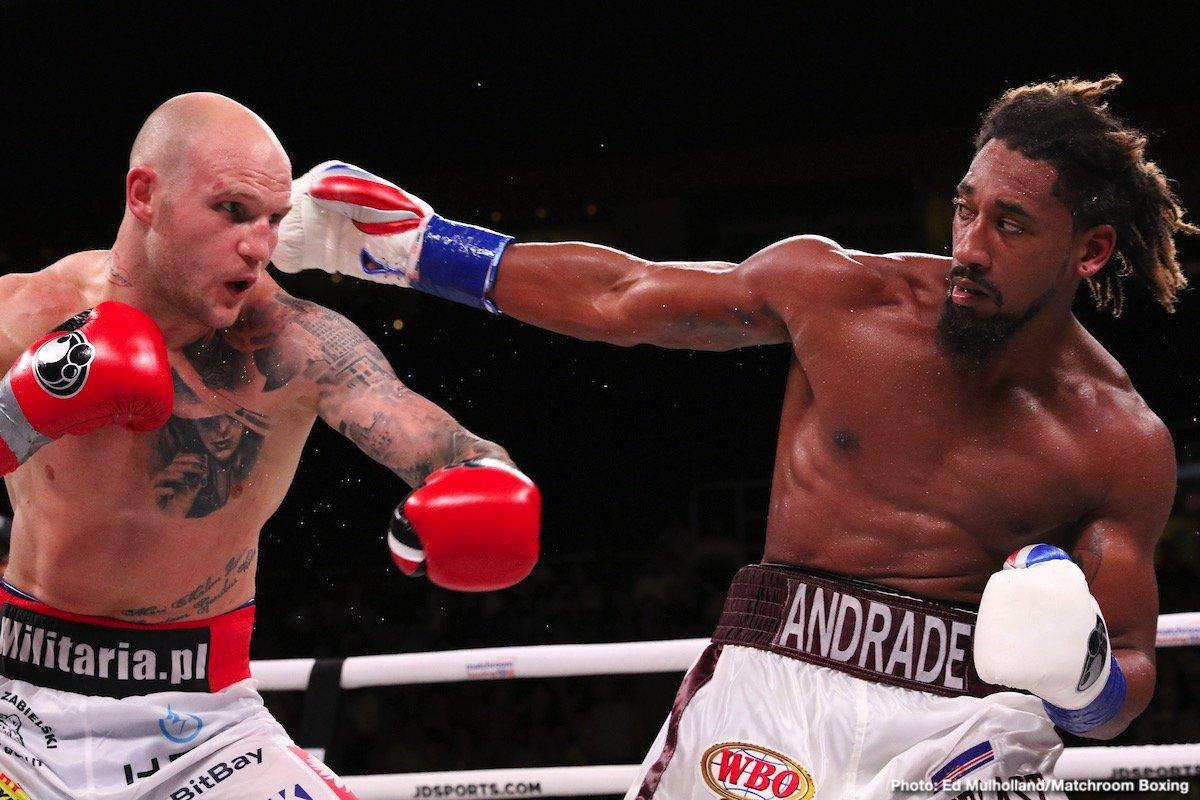 Demetrius Andrade DAZN Eddie Hearn Matchroom Boxing Ryota Murata Steven Butler