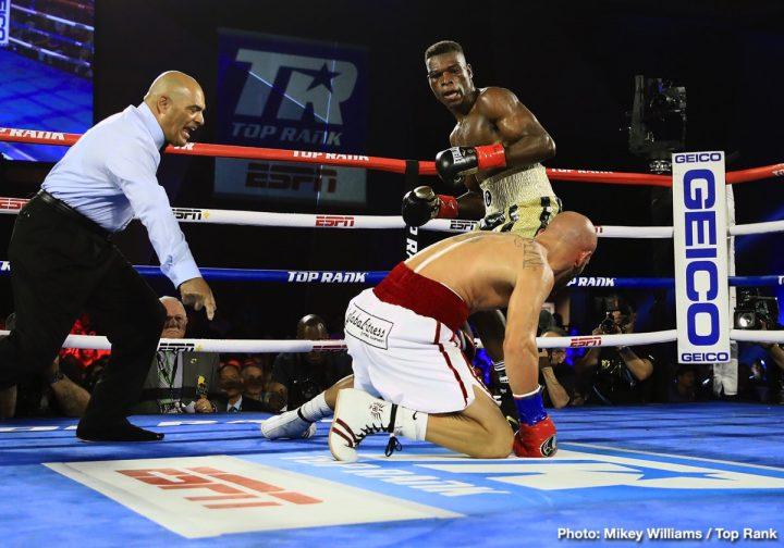 - Latest Commey vs. Beltran Patrick Day Ray Beltran Richard Commey Top Rank Boxing