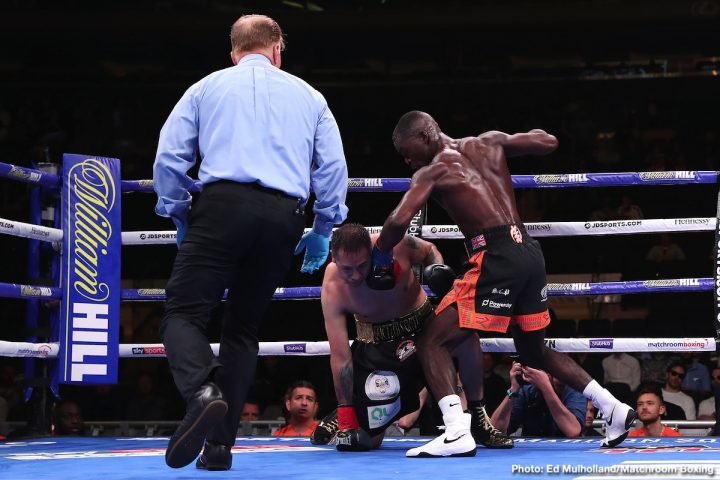 Latest Buatsi vs. Periban Chris Algieri Joshua Buatsi Marco Antonio Periban Tommy Coyle
