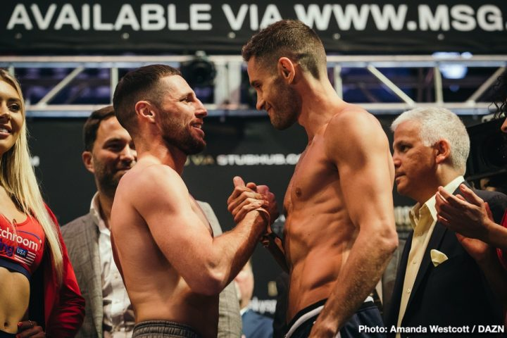 - Latest Algieri vs. Coyle Chris Algieri Tommy Coyle
