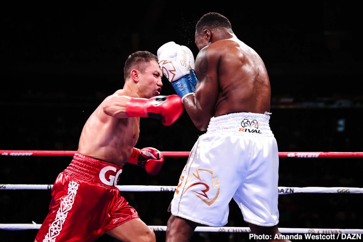 Results / Photos: GGG KOs Rolls In DAZN Debut ⋆ Boxing News 24