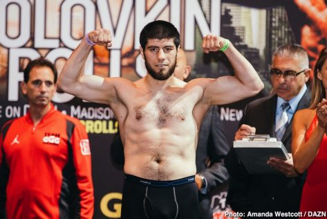 Gennady Golovkin DAZN Golovkin vs. Rolls Steve Rolls