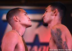 Latest Óscar Valdez ESPN Jason Sanchez Top Rank Boxing Valdez vs. Sanchez