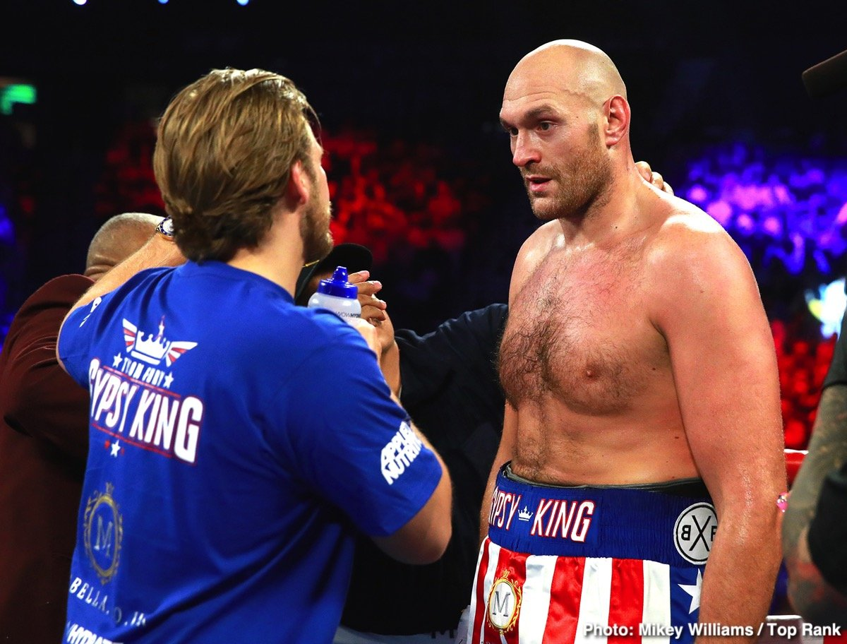 Deontay Wilder Tyson Fury ESPN Fury vs. Wallin Otto Wallin top rank Wilder vs. Fury