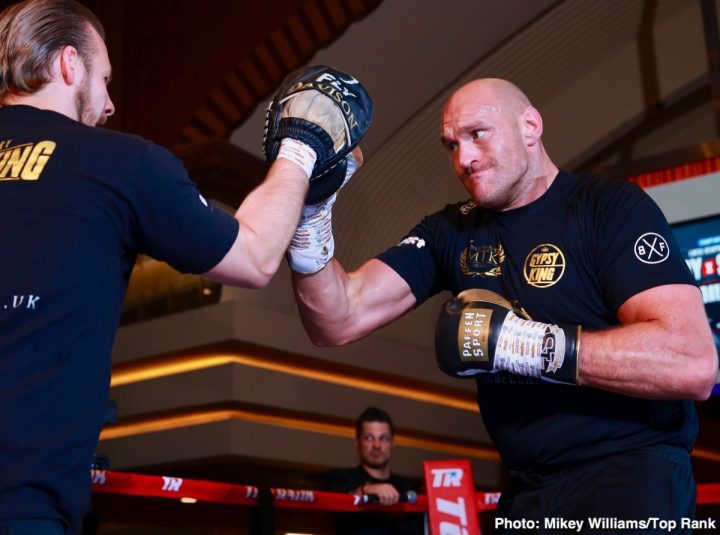 Tyson Fury Hits Vegas Quotes For Tom Schwarz Fight