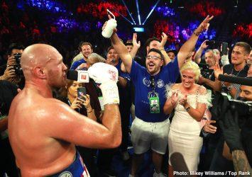 Tyson Fury Fury vs Schwarz Jesse Hart Sullivan Barrera Tom Schwarz
