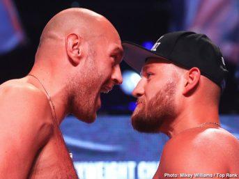 Tyson Fury ESPN Fury vs Schwarz Tom Schwarz Top Rank Boxing