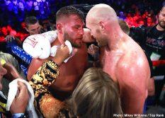 - Latest Tyson Fury Fury vs Schwarz Jesse Hart Sullivan Barrera Tom Schwarz