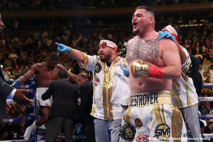 Anthony Joshua Eddie Hearn Joshua vs Ruiz Matchroom Boxing