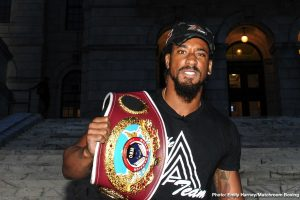 "Demetrius Andrade says ""Canelo needs to fight young champions"""