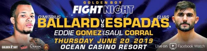 - Latest Golden Boy Promotions