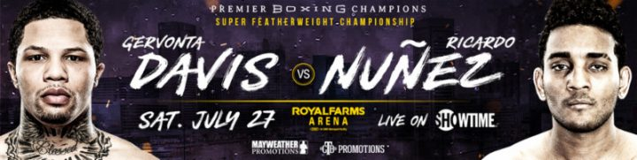 Gervonta Davis Davis vs. Nunez Showtime World Championship Boxing