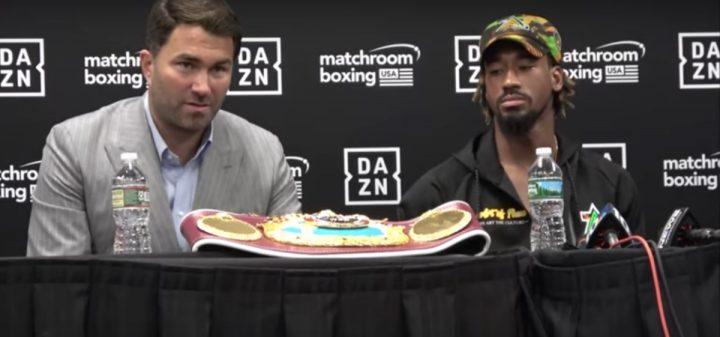 Demetrius Andrade Gennady Golovkin Andrade vs. Sulecki DAZN Eddie Hearn Maciej Sulecki Matchroom Boxing USA