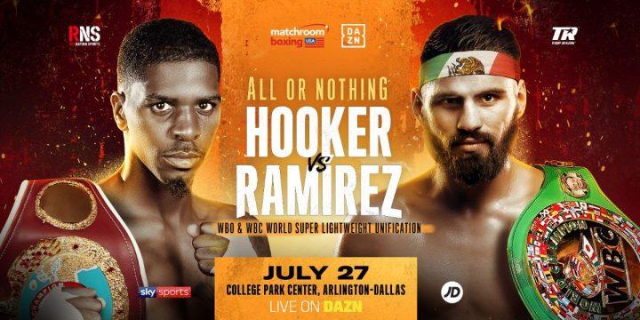 - Latest Jose Carlos Ramirez Matchroom Boxing Maurice Hooker Ramirez vs. Hooker