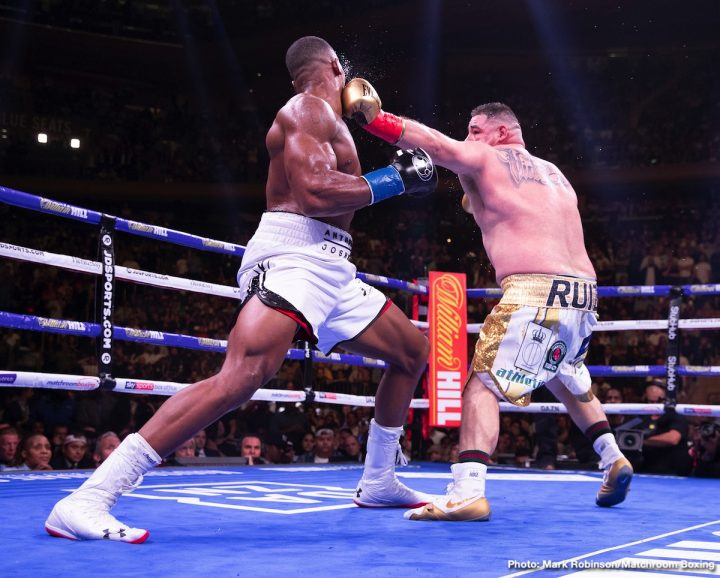 Anthony Joshua Andy Ruiz Jr DAZN Joshua vs. Ruiz Jr. 2