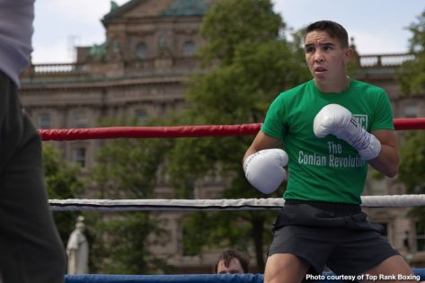 - Latest Conlan vs. Ruiz Diego Alberto Ruiz ESPN Michael Conlan Top Rank Boxing