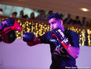 Amir Khan: 'I can fight Errol Spence if I want'