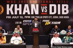 - Latest Amir Khan Billy Dib Samuel Peter Hughie Fury Khan vs. Dib
