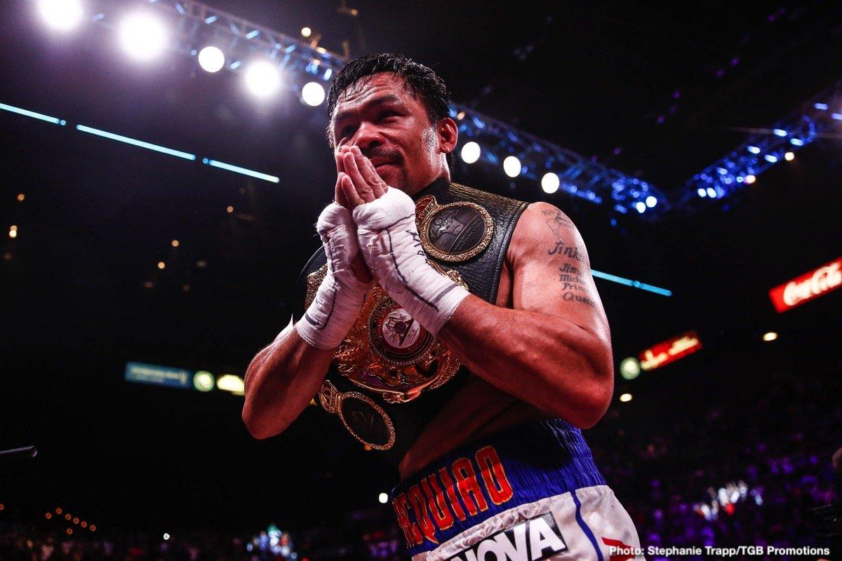 Manny Pacquiao Ryan Garcia