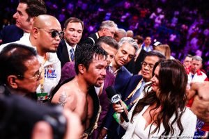 Manny Pacquiao adviser hints Mikey Garcia next for him