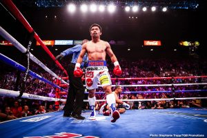 Manny Pacquiao is dangerous for Terence Crawford says Tim Bradley