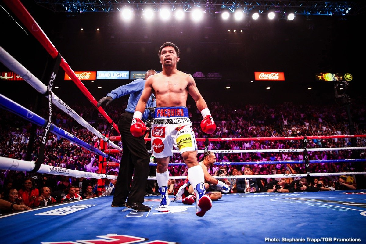 Manny Pacquiao Terence Crawford Timothy Bradley