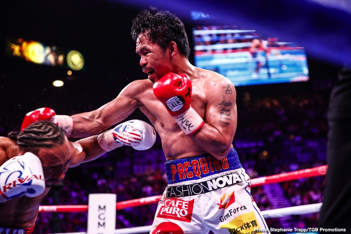 Danny Garcia Manny Pacquiao Mikey Garcia Shawn Porter