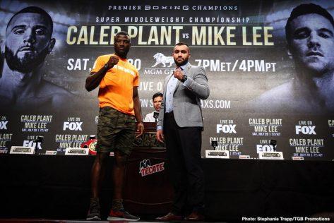 - Latest Ajagba vs. Demirezen Ali Eren Demirezen Caleb Plant Efe Ajagba Mike Lee Plant vs. Lee