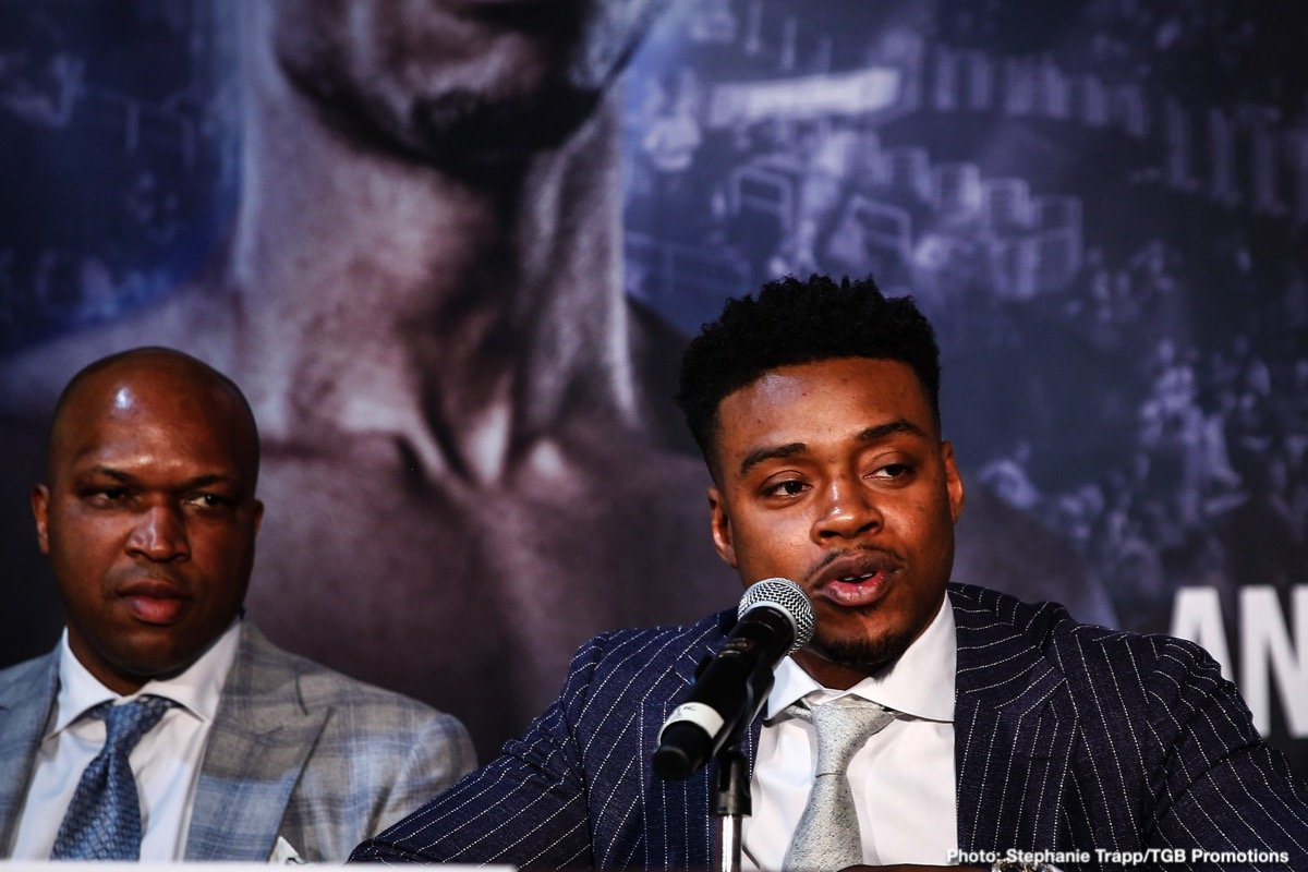 Errol Spence Jr Shawn Porter Terence Crawford Fox Sports pay-per-view Spence vs. Porter Teddy Atlas