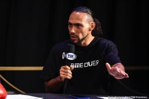 Keith Thurman: Spence is going to have to see me at 147 or leave the division