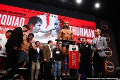 Keith Thurman Manny Pacquiao Fox Sports pay-per-view Pacquiao vs. Thurman Sergey Lipinets Yordenis Ugas