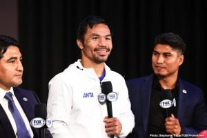 Mikey Garcia says he's fighting Manny Pacquiao next 100%, not Conor McGregor