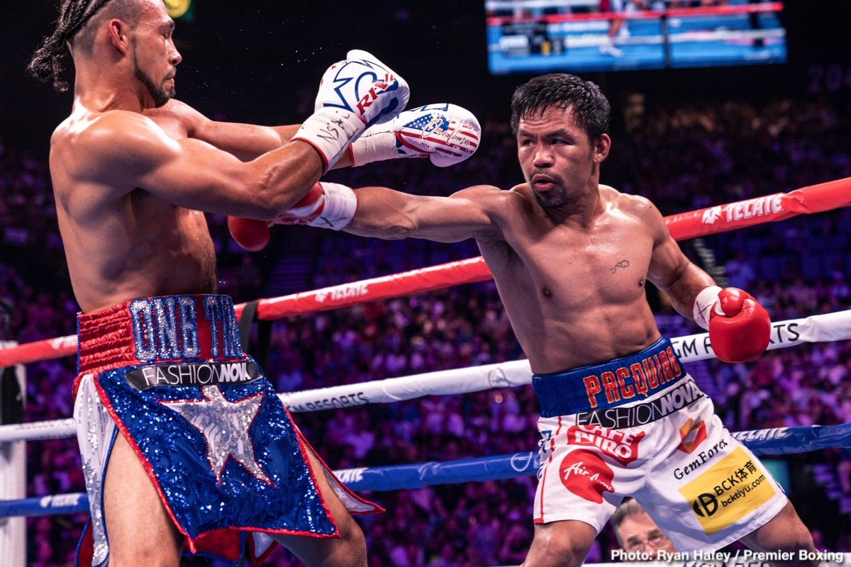 Errol Spence Jr Manny Pacquiao Terence Crawford Timothy Bradley