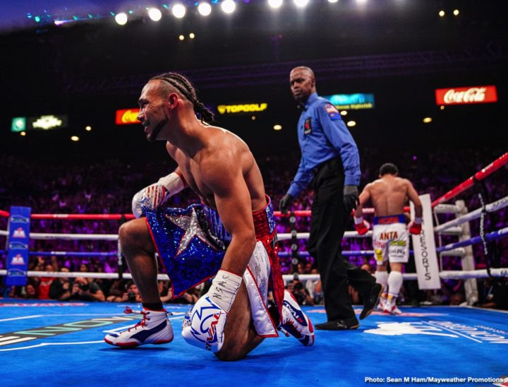 Keith Thurman Manny Pacquiao FOX Sports PPV Gary Antuanne Russell Pacquiao vs. Thurman