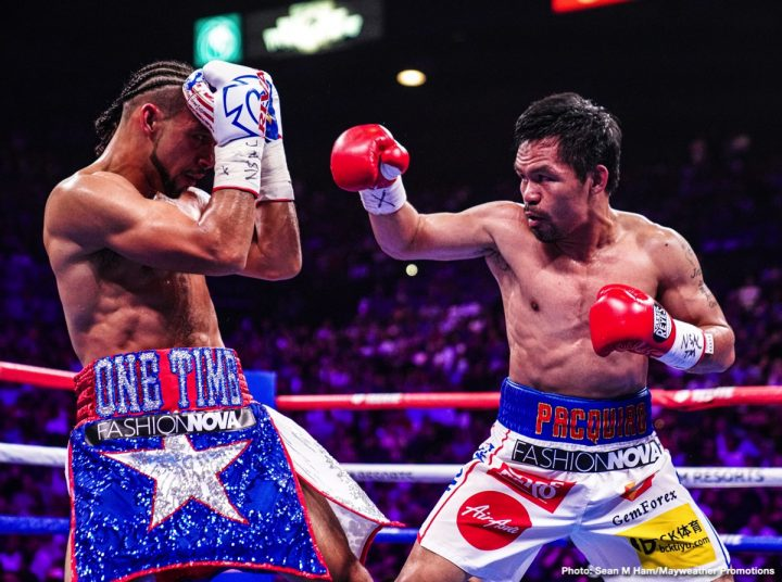 Danny Garcia Errol Spence Jr Floyd Mayweather Jr Manny Pacquiao Mikey Garcia