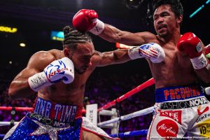 "Pacquiao says Spence is ""Too Slow,"" but is interested in fighting him"