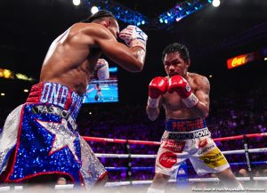 Pacquiao targeting Spence, Danny Garcia or Porter for June or July