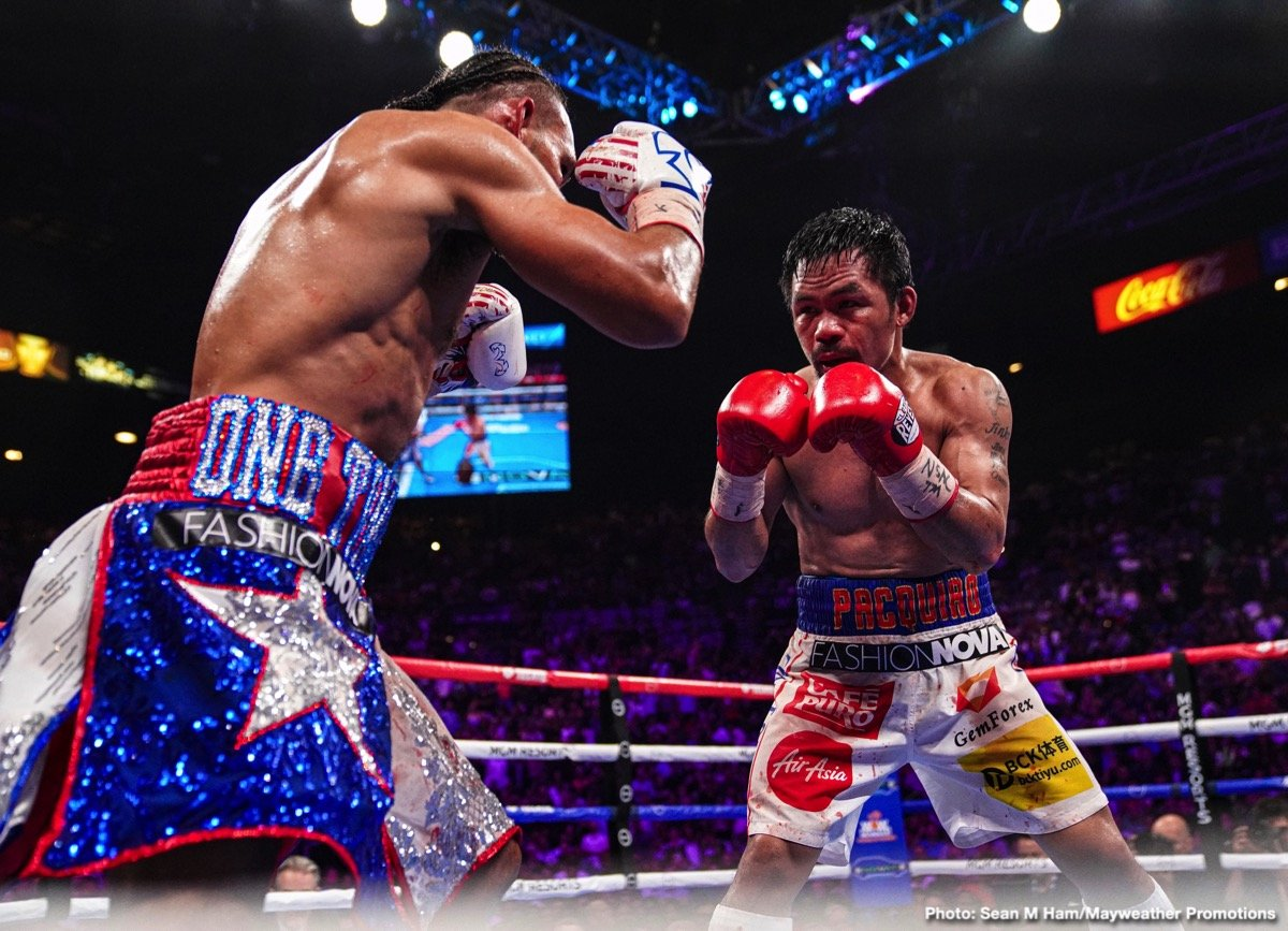Errol Spence Jr Manny Pacquiao