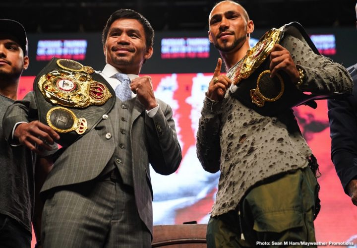 - Latest John Molina Keith Thurman Manny Pacquiao