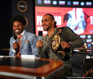 Thurman: Pacquiao has my BELT, I want it back