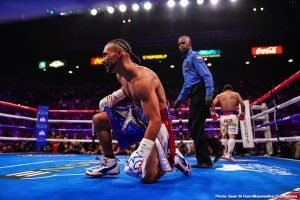 Thurman still mentally struggling from his loss to Pacquiao