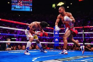Keith Thurman to Manny Pacquiao: GIVE me a rematch
